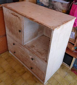 mueble armario estantería taller herramientas