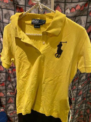 Precioso polo Ralph Lauren amarillo perfecto