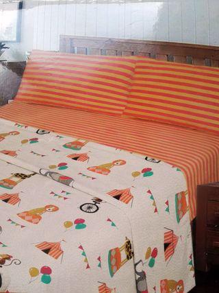 Juego sábanas infantil cama 90 (A ESTRENAR)