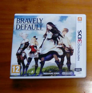 Bravely Default Nintendo 3ds 2ds