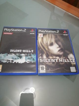 Pack Silent Hill 2 y 3