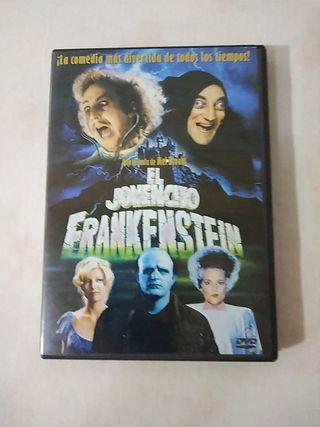 película DVD El jovencito Frankenstein