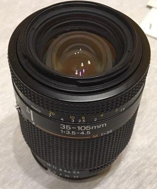 Objetivo de cámara de fotos AF Zoom-Nikkor 35-105