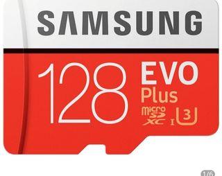 vendo tarjeta memoria 128 gb original