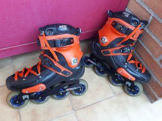 Patines inline Seba FR2 mejorados. Buenos patines.