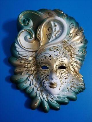Mascara veneciana ceramica