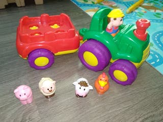 Tractor, sonido animales. MUSICAL