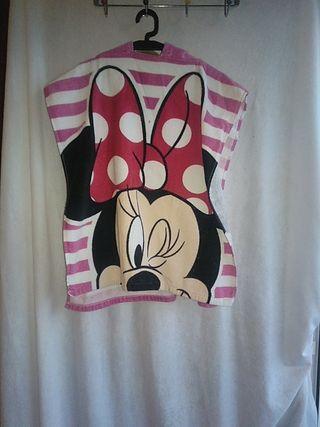 Poncho toalla Pretty Minnie