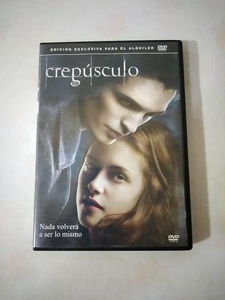 película DVD Crepúsculo