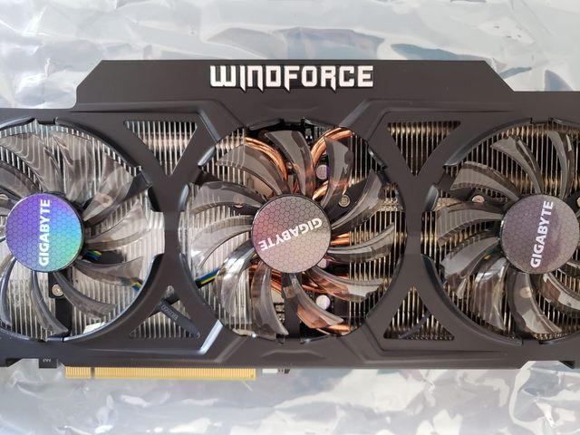 Tarjeta gráfica GPU Gigabyte GTX 770 OC 2gb DDR5