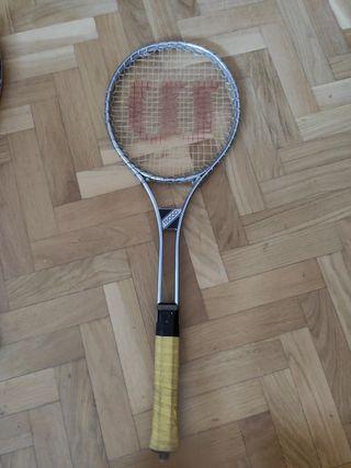 Raqueta tenis vintage