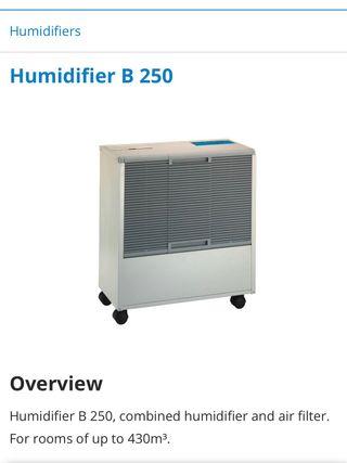 Humidificador industrial