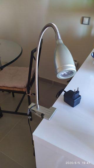 lote de lámpara pinza y linterna