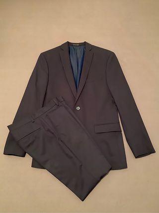Traje de Zara Azul talla S