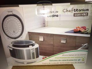 Robot de Cocina ChefTitanium con Voz