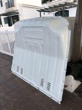 Mampara de acero (protege cabina) renault máster