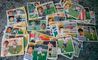 48 Cromos Variados de fútbol de los años 90.