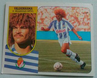 Cromo Valderrama (Valladolid) 91-92.
