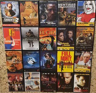Pack 40 películas en DVD