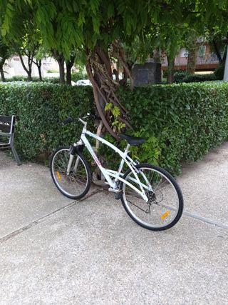 bicicleta bici decathlon triban trail talla m
