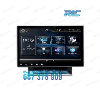 "RADIO NAVEGADOR 2DIN GPS 10"" HD TÁCTIL BLUETOOTH U"