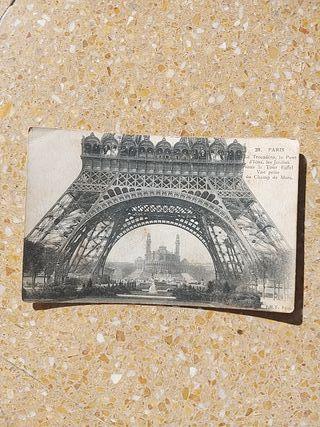 postal Paris años 20