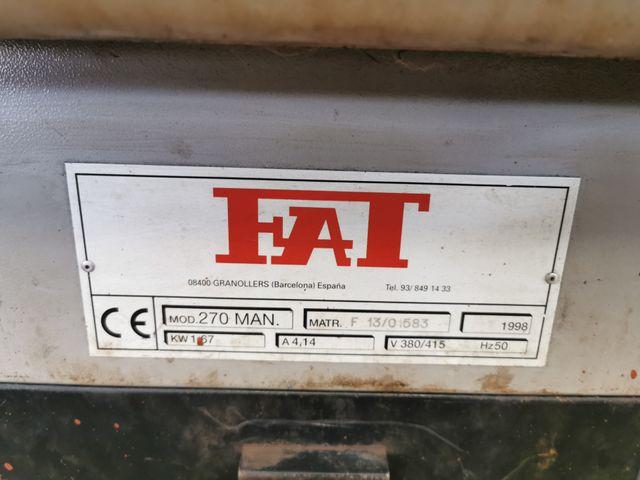 Sierra de cinta FAT 270 MAN
