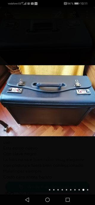 maletin de cuero auténtico visita medica