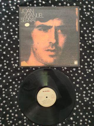 Joan Manuel Serrat disco vinilo