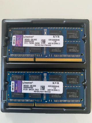 Memoria ram para MacBook Pro