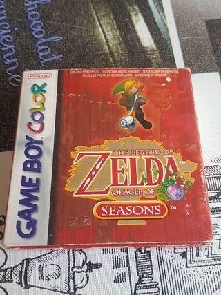 zelda oracle of seasons game boy