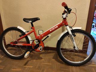 bicicleta de niño.