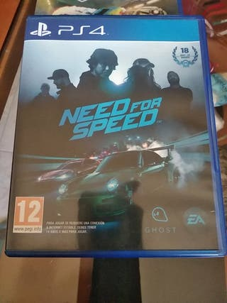 juego PS4. NEED FOR SPEED.