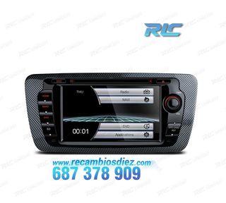 "RADIO NAVEGADOR 7"" IBIZA 6J USB GPS TACTIL HD"