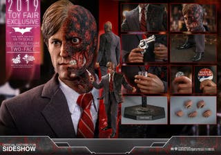 hot toys two faces 2.0 exclusive