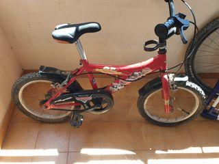 Bicicleta infantil Cars