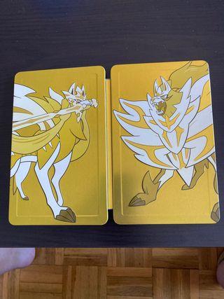 Portada Pokemon espada y escudo