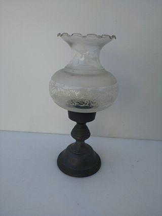 candil para velas antiguo