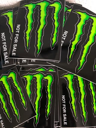 Pegatinas monster energy