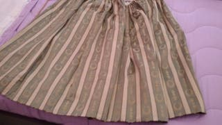 Falda de huertana (Fallas) - ajustable con cordón