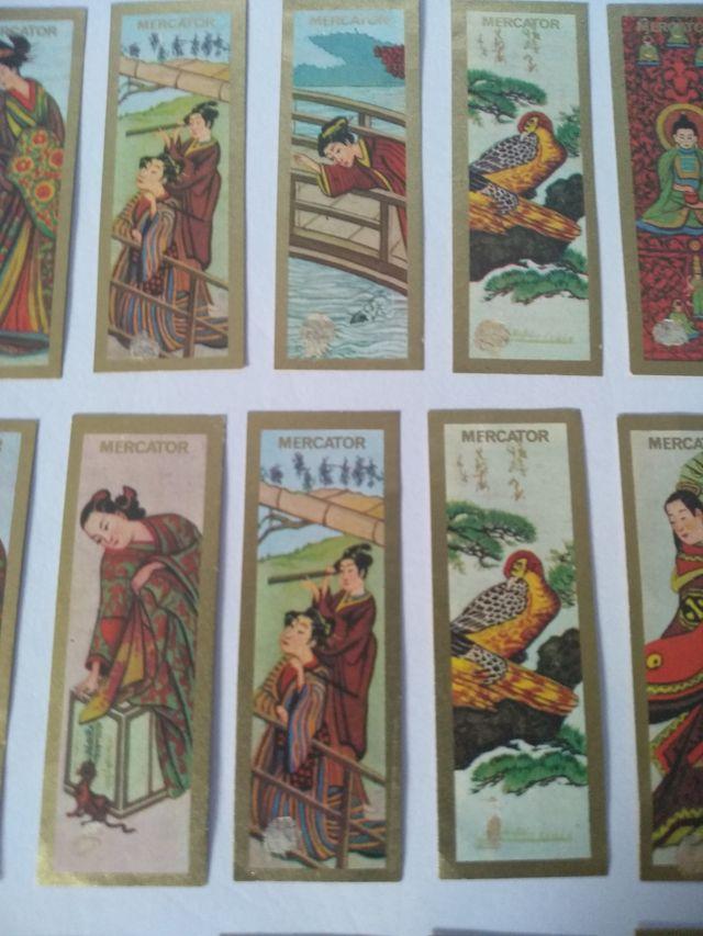 Vitolas antiguas colección arte asiático