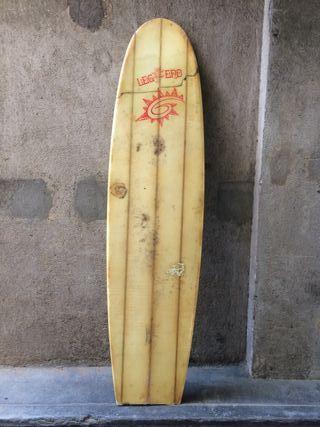 Tabla de surf LEGEND vintage para decoración 220cm