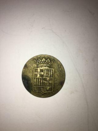 Ficha o moneda de obra laica antigua