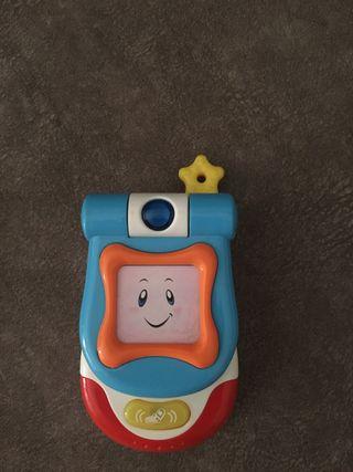 Teléfono musical.