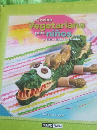 cocina vegetariana para niños
