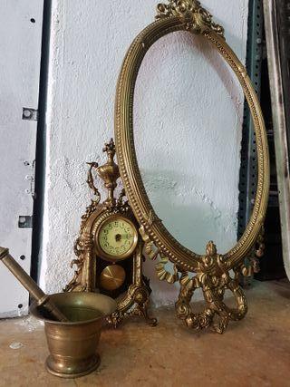 antigüedades de bronce