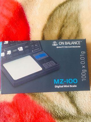 Digital mini scale. MZ - 100.