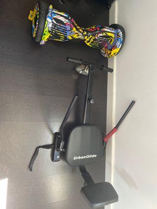 Hoverboard más silla /patinete eléctrico