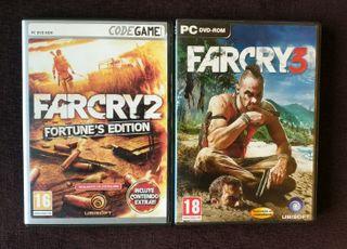 Far Cry 2 y Far Cry 3 - PC