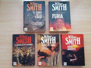 Pack novelas - Wilbur Smith